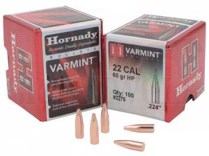 .224 / 5,6 mm 60 gr / 3,9 g Hornady Spire Point HP 100 Stück