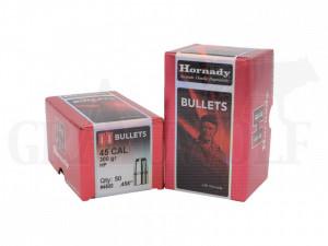 .458 / 11,5 mm 300 gr / 19,5 g Hornady Bullets HP Geschosse 50 Stück