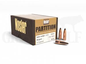 .243 / 6 mm 85 gr / 5,5 g Nosler Partition Spitzer Geschosse 50 Stück