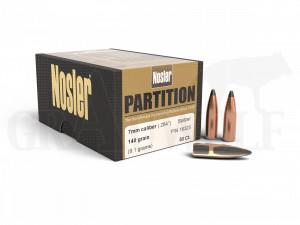 .284 / 7 mm 140 gr / 9,1 g Nosler Partition Geschosse 50 Stück