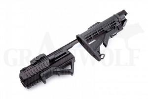 Hera Arms Triarii RTU Schaftsystem für CZ SP01 Schwarz