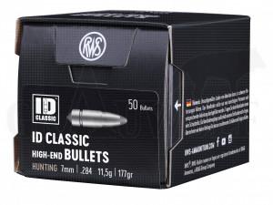 .284 / 7 mm 177 gr / 11,5 g RWS ID Classic Geschosse 50 Stück