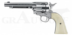 Colt Single Action Revolver Army 45 vernickelt CO2 Luftdruck 4,5 mm