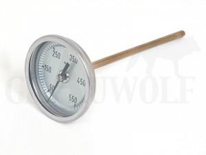Blei Thermometer Bi-Metall Celsius 50 - 550°