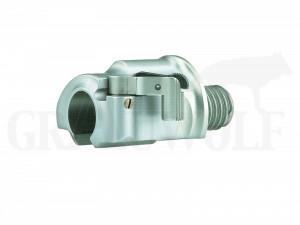 Recknagel M98 Sicherung Secura ballig weißfertig mit Hebelsicherung