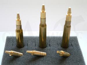 .308 / 7,62 mm 154 gr / 10,0 g Wi-La-Tech DSG / NS Doppel-Scharfrand-Geschosse bleifrei 50 Stück