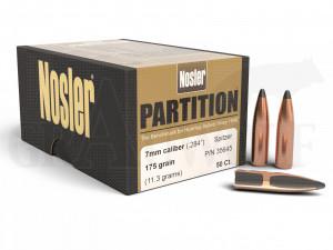 .284 / 7 mm 175 gr / 11,3 Nosler Partition Geschosse 50 Stück