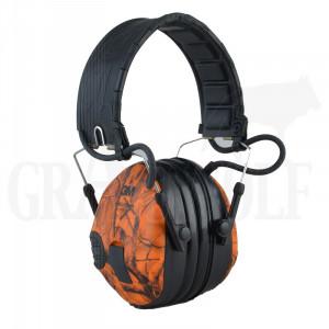 3M Peltor ProTac elektronischer Gehörschutz Camo Orange