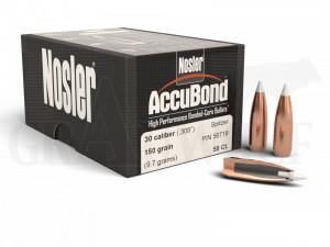 .308 / 7,62 mm 150 gr / 9,7 g Nosler AccuBond Geschosse 50 Stück