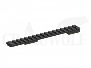 Recknagel Picatinny Schiene Alu Remington 700 kurz 20 MOA