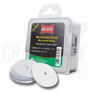 Ballistol Mikrofaser-Patches rund Ø 21 mm