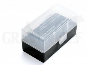 Berry´s Klappdeckelbox #405 weiß für 50 Patronen .222 etc.