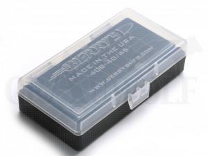 Berry´s Klappdeckelbox #408 weiß für 50 Patronen 10 mm / .45 ACP