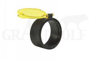 Quake Industries durchsichtiger ZF Schutz  Durchmesser 36 - 41 mm