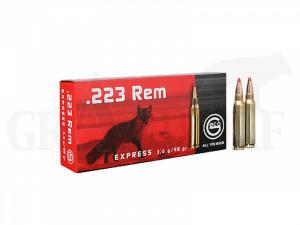 .223 Remington 55 gr / 3,6 g Geco Express Patronen 20 Stück