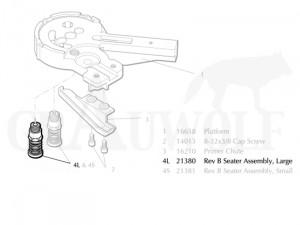 Dillon XL650 (21380) Zündhütchensetzer groß