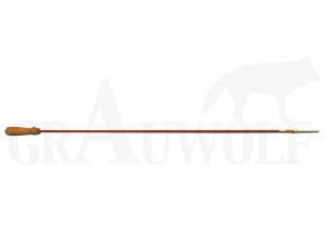 Einteiliger Putzstock mit Innengewinde 800 mm ab Kaliber 8 mm