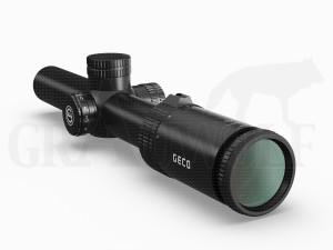 Geco Zielfernrohr 3,5-18x56i Absehen 4 30mm Mittelrohr