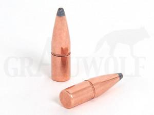 .308 / 7,62 mm 150 gr / 9,7 g Hornady InterLock SP Flat Tail Geschosse 100 Stück