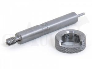 Lee Trimmlängenmaß mit Hülsenhalter für 8 mm Remington Magnum