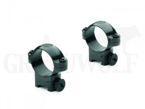 """Leupold Montageringe 1 """" / 25,4 mm für 11mm Schiene hohe Ausführung"""