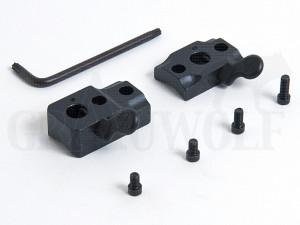 Leupold Basis QR Mauser 2-teilig Matt