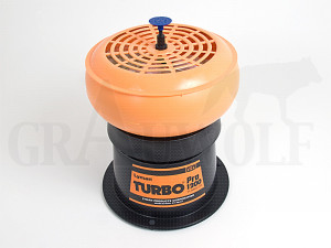 Lyman Turbo Tumbler Hülsenpoliergerät 1200 mit Pro Sifter Deckel