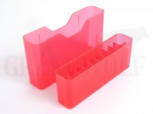 MTM Stülpdeckelbox 6,5x64 -.458 Mag rot für 20 Patronen