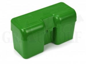 MTM Klappdeckelbox RF22-SM grün für 22 Patronen: .270 Win Short Mag, .45-70, .450 Marlin