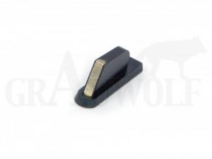 Recknagel Balkenkorn mit Längsprisma und Silberloteinlage BH 9,5 mm