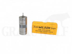 .22-250 Remington / .250 Savage Wilson Hülsenhalskalibriermatrize für Einsätze