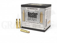 .222 Remington Nosler Hülsen 100 Stück