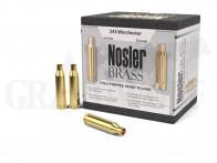 .243 Winchester Nosler Hülsen 50 Stück
