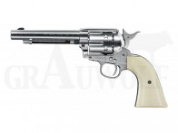 Colt Single Action Revolver Army 45 vernickelt CO2 Luftdruck 4,5 mm
