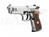 Beretta CO2 Luftpistole Modell 92 vernickelt 4,5 mm