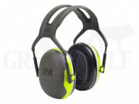 3M™ Peltor™ X4A Gehörschutz grau neongelb