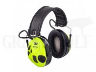 3M Peltor SportTac elektronischer Gehörschutz neongrün und grün
