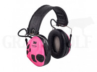 3M Peltor SportTac elektronischer Gehörschutz neonpink und grün