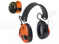 3M Peltor SportTac elektronischer Gehörschutz orange oliv