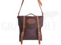 Akah Traveltasche Vintage-Leder braun