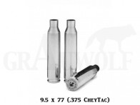 .375 Chey-Tac Peterson Cartridge Comp. vernickelte Match Hülsen 50 Stück