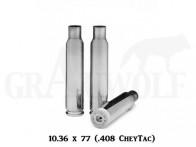 .408 Chey-Tac Peterson Cartridge Comp. vernickelte Match Hülsen 50 Stück