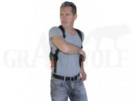 Kombi-Schulterholster für Digitalfunk- oder Navigationsgerät Größe 2