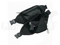 Akah Spezial-Bauchtasche für Kurzwaffen mit Zahlenschloss schwarz