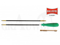 Ballistol Set Carbon-Putzstab kurz