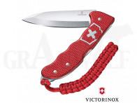 Victorinox Hunter Pro Klappmesser feststellbar Eloxiert rot silber