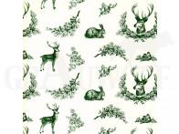 Geschenkpapier mit Jagdmotiven 100 m Rolle