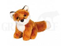 Fuchs sitzend Plüschtier 15 cm