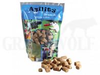 Agility Snack Lachs & Reis 300 g Beutel
