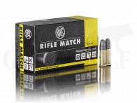 .22 lfB RWS Rifle Match 50 Stück
